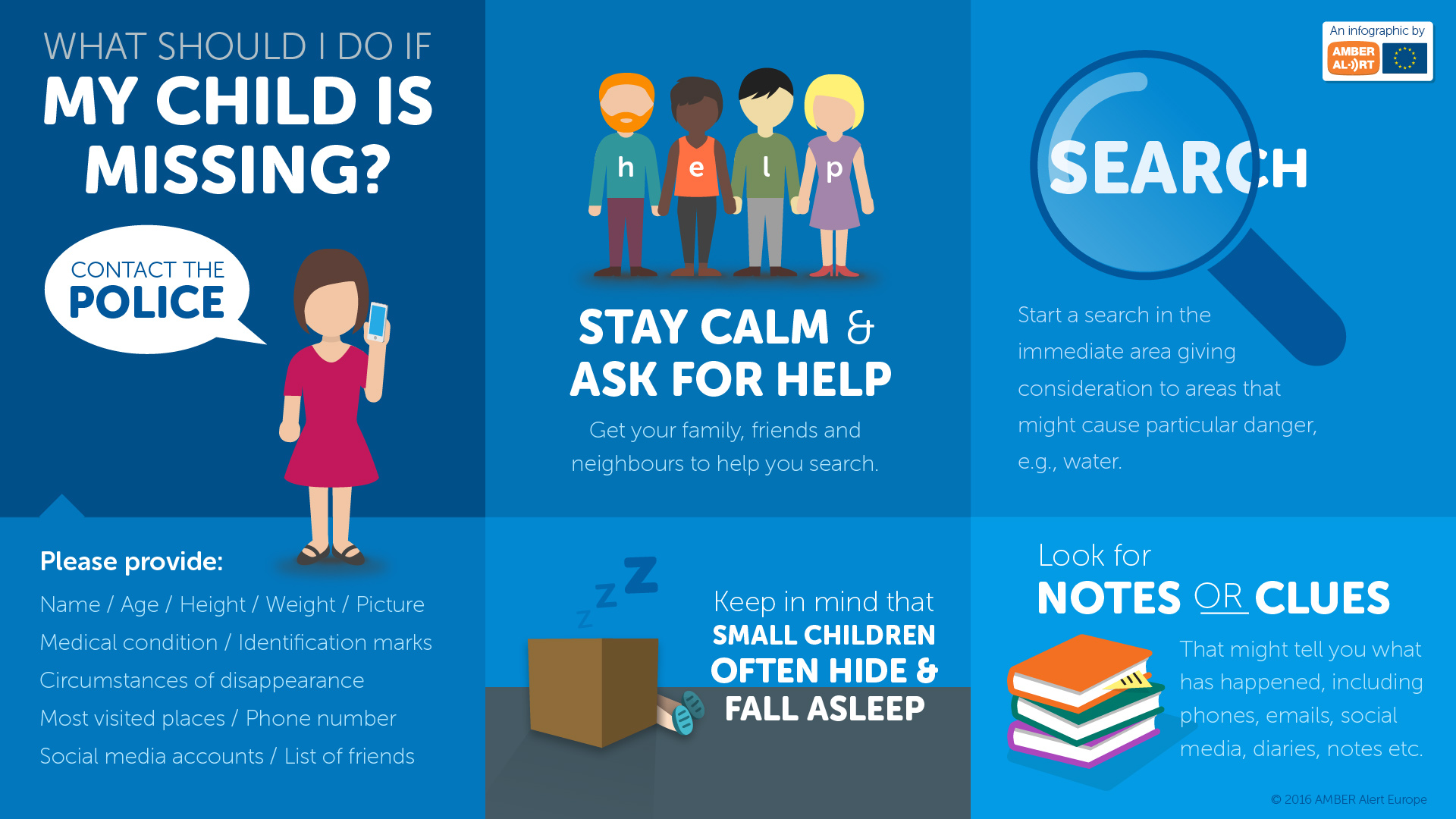 What to do when my child is missing